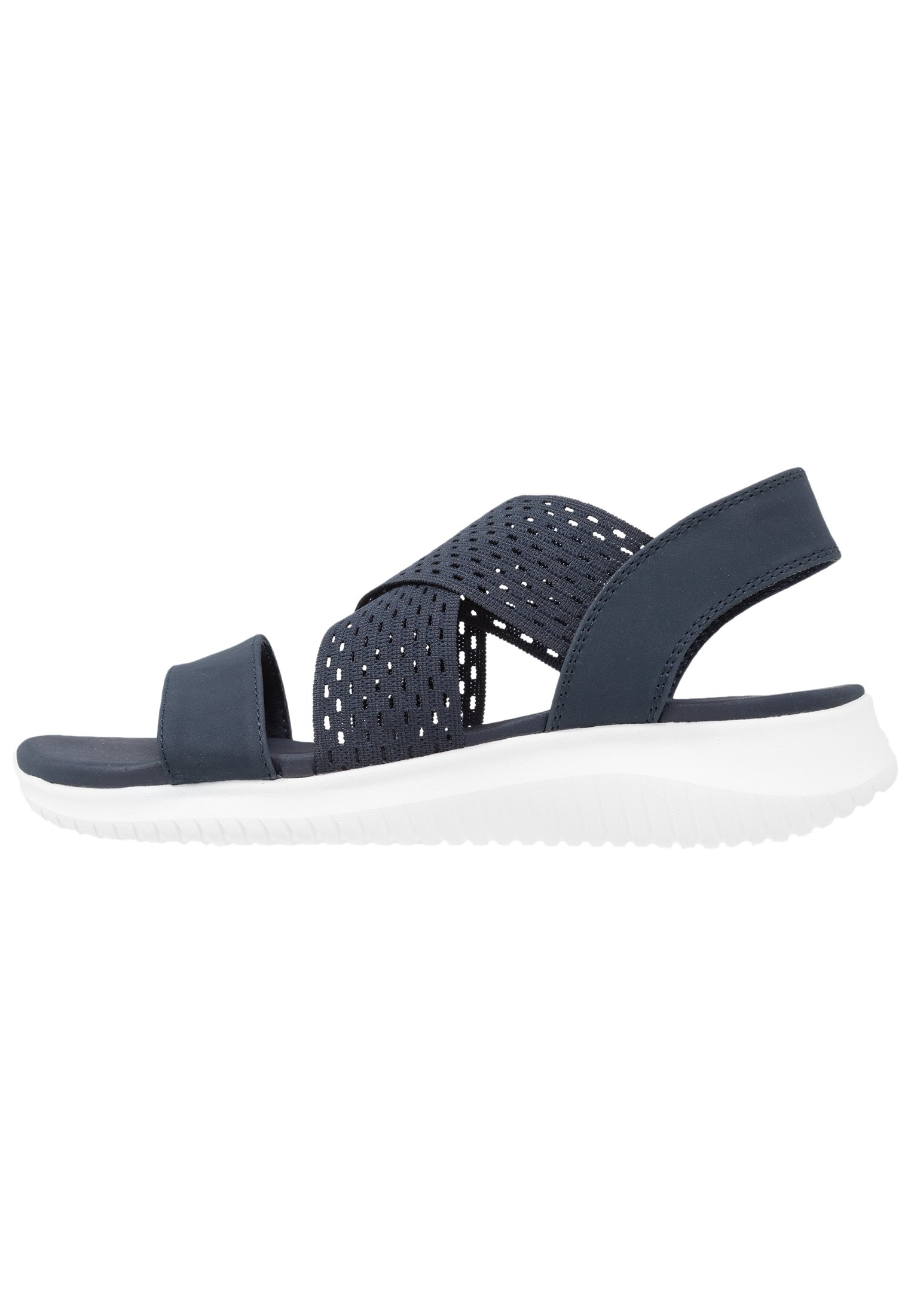 Skechers Ultra Flex - Sandali Con Zeppa Black 9QjZc