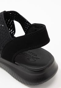 Skechers - ULTRA FLEX - Wedge sandals - black - 2