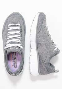 Skechers - SYNERGY STELLBOUND - Zapatillas - grey - 3