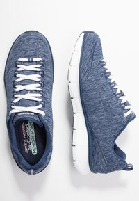 Skechers - SYNERGY STELLBOUND - Sneaker low - navy - 3