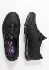 Skechers - GRATIS - Slip-ons - black - 3