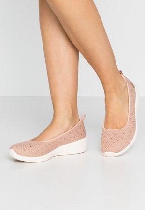 ARYA - Ballet pumps - rose metallic/offwhite/rose gold