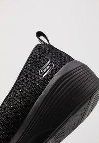 Skechers - ARYA - Ballerina - black metallic/black/gunmetal - 2
