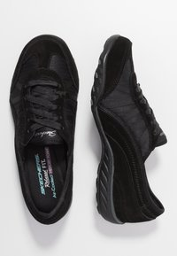 Skechers - BREATHE-EASY - Trainers - black - 3