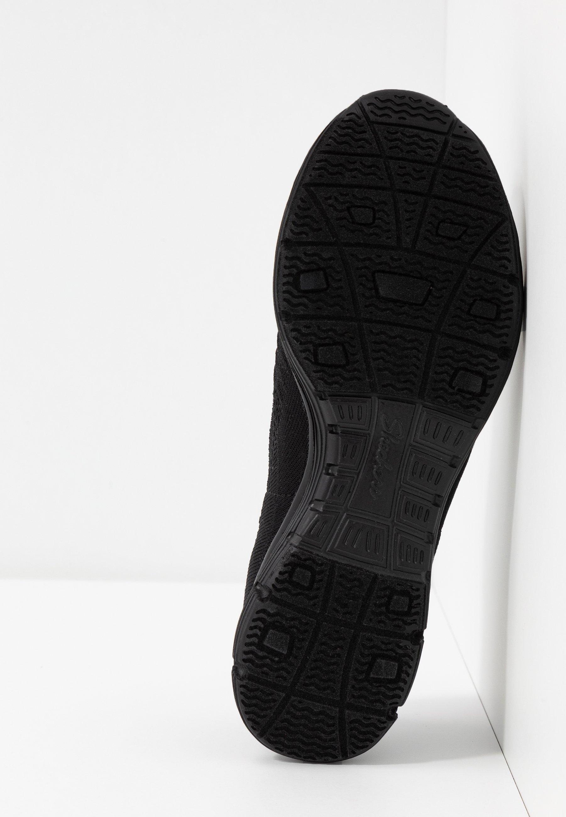 Skechers SEAGER - Półbuty wsuwane - black
