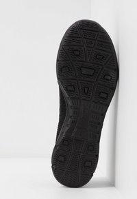 Skechers - SEAGER - Ankle strap ballet pumps - black - 6