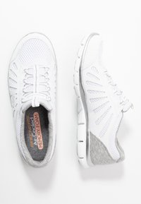Skechers - Slip-ons - white/light gray - 3