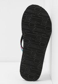 Skechers - MEDITATION - T-bar sandals - black/multicolor - 6