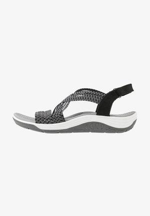 REGGAE CUP - Chodecké sandály - black/grey gore
