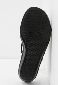 Skechers - RUMBLE ON - Korolliset pistokkaat - black - 6