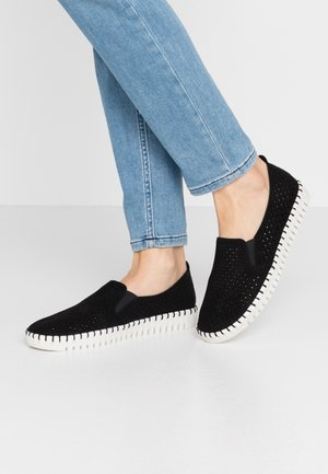 SEPULVEDA  - Loaferit/pistokkaat - black/offwhite