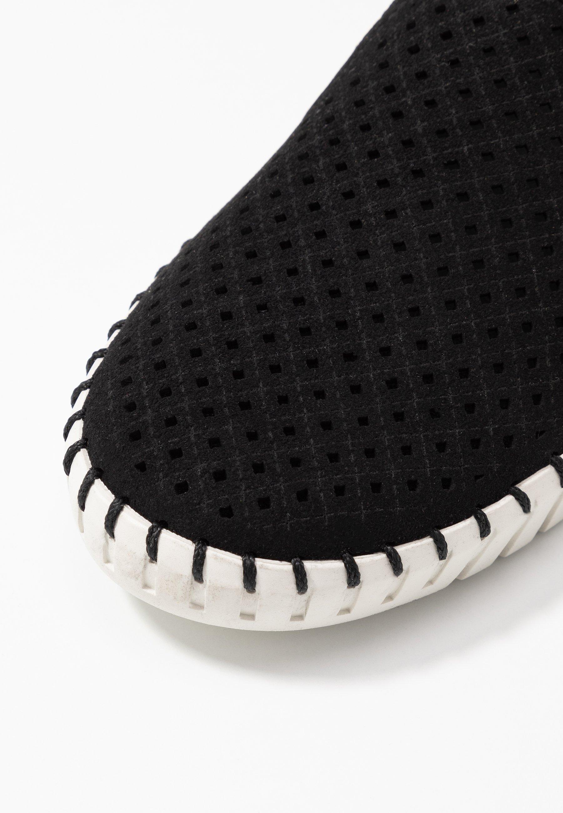 Skechers SEPULVEDA  - Półbuty wsuwane - black/offwhite