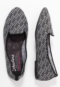 Skechers - CLEO - Ballet pumps - black/white - 3