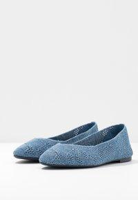 Skechers - CLEO - Ballet pumps - denim - 4