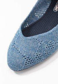 Skechers - CLEO - Ballet pumps - denim - 2