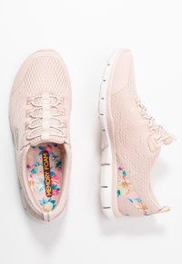 Skechers - Loaferit/pistokkaat - light pink/hot melt/offwhite - 3