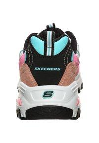 Skechers - D'LITES SECOND CHANCE WALKINGSCHUH DAMEN - Sneakers basse - pink - 3