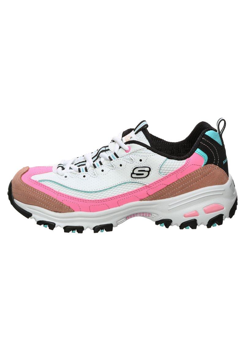 Skechers - D'LITES SECOND CHANCE WALKINGSCHUH DAMEN - Sneakers basse - pink