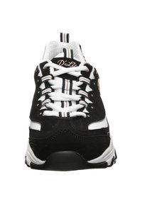Skechers - D'LITES  - Sneakers basse - black/white - 4