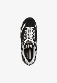 Skechers - D'LITES  - Sneakers basse - black/white - 1
