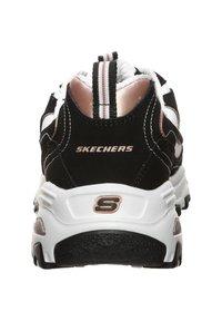 Skechers - D'LITES  - Sneakers basse - black/white - 5