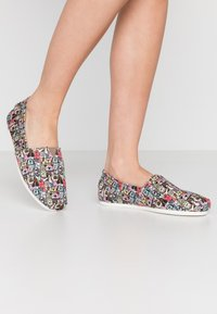 Skechers - BOBS PLUSH - Slip-ons - taupe/multicolor - 0