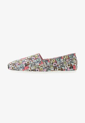 BOBS PLUSH - Slip-ons - taupe/multicolor