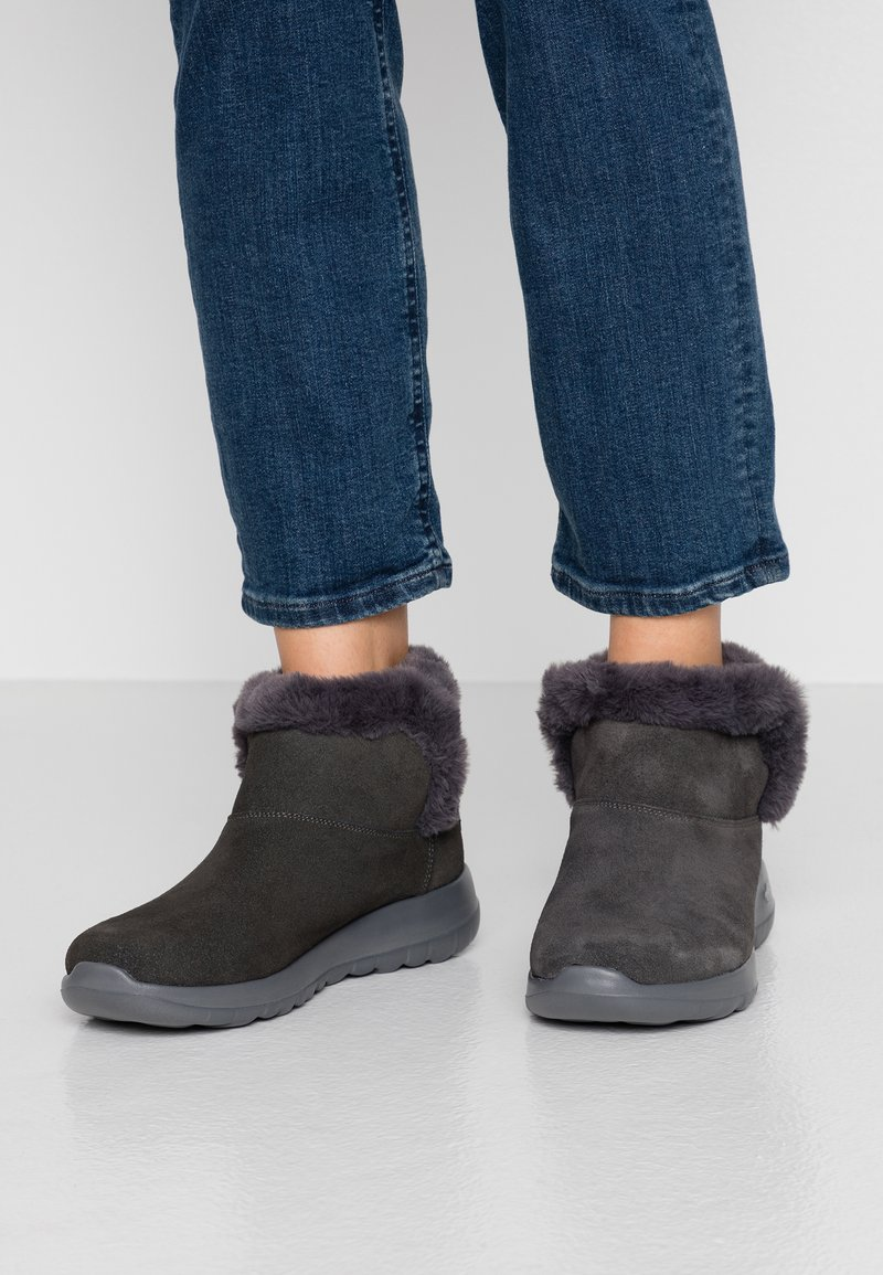 Skechers - ON THE GO JOY - Ankle boots - char