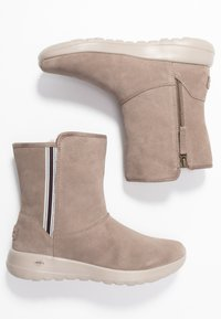 Skechers - ON THE GO JOY - Classic ankle boots - dark taupe - 3