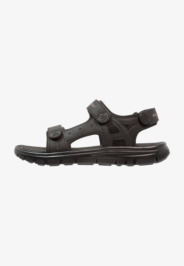 FLEX ADVANTAGE - UPWELL - Chodecké sandály - black