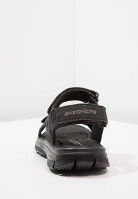 Skechers - FLEX ADVANTAGE - UPWELL - Trekkingsandale - black - 3
