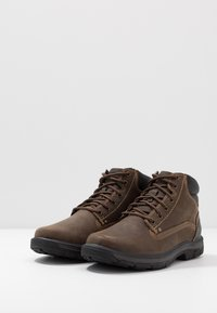 Skechers - SEGMENT - Lace-up ankle boots - chocolate - 2