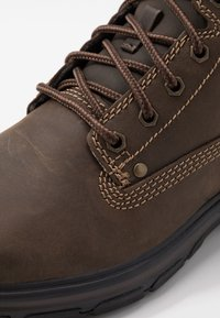 Skechers - SEGMENT - Lace-up ankle boots - chocolate - 5