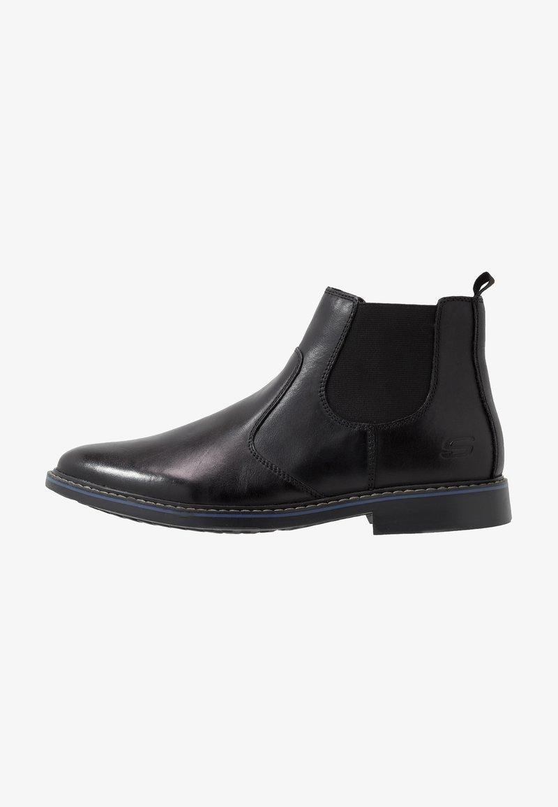 Skechers - BREGMAN - Classic ankle boots - black