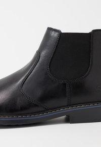 Skechers - BREGMAN - Classic ankle boots - black - 5