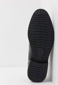 Skechers - BREGMAN - Šněrovací boty - black - 4