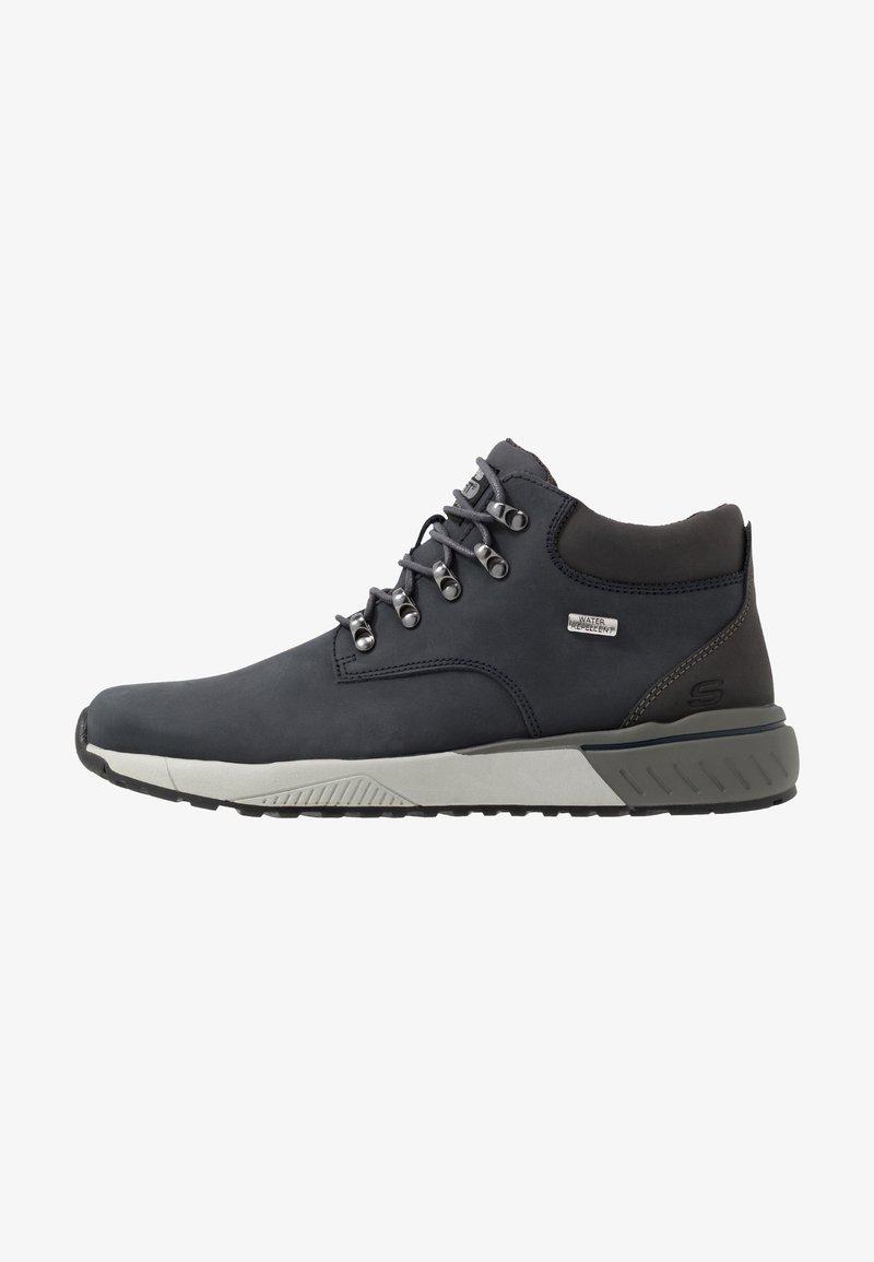 Skechers - FELANO - Sneakersy wysokie - navy