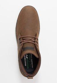 Skechers - HESTON - Sneaker high - dark brown - 1