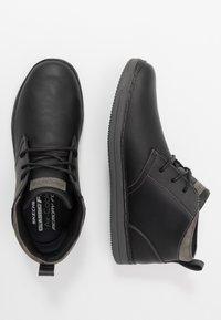 Skechers - HESTON - High-top trainers - black - 1