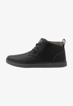HESTON - High-top trainers - black