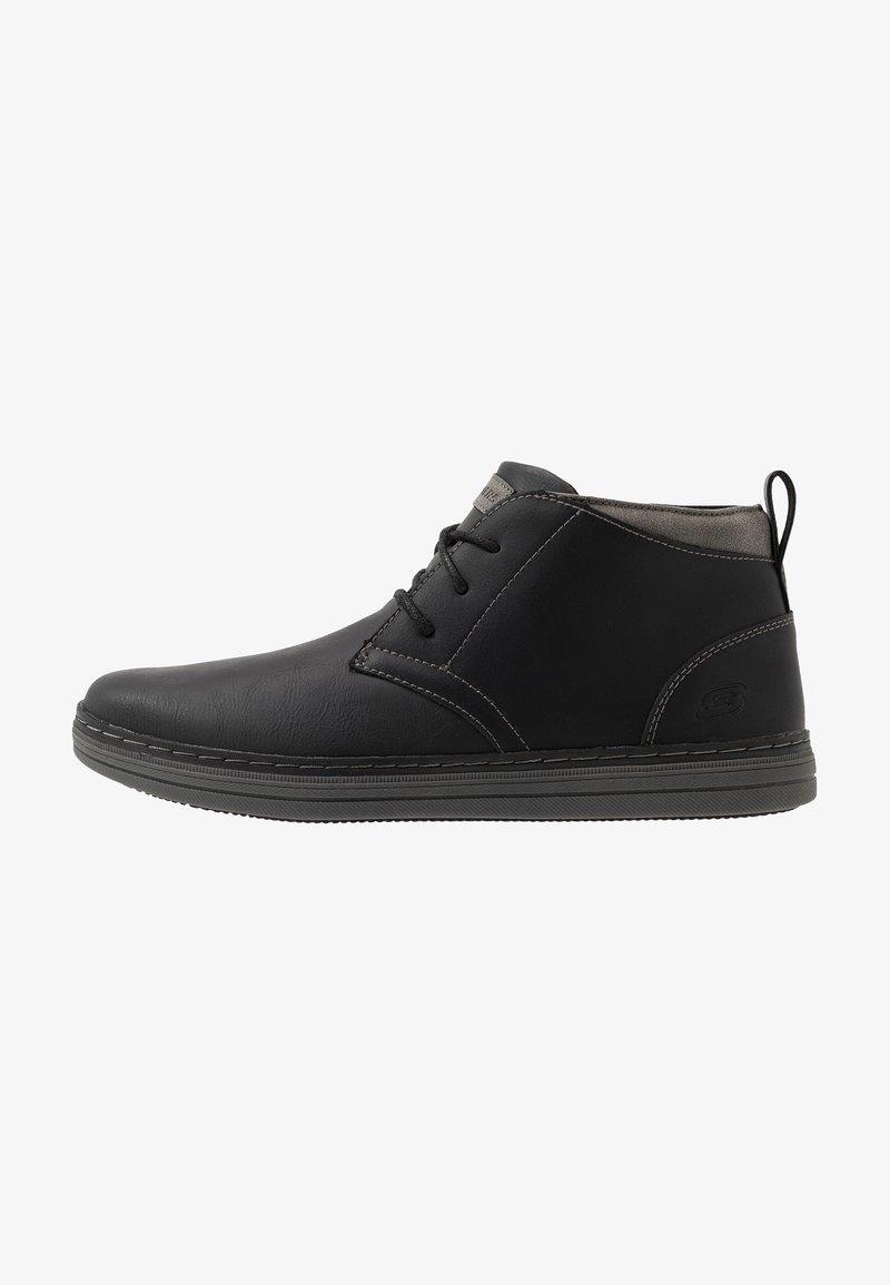 Skechers - HESTON - High-top trainers - black