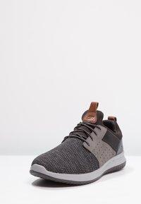 Skechers - DELSON - Loafers - black/grey - 2