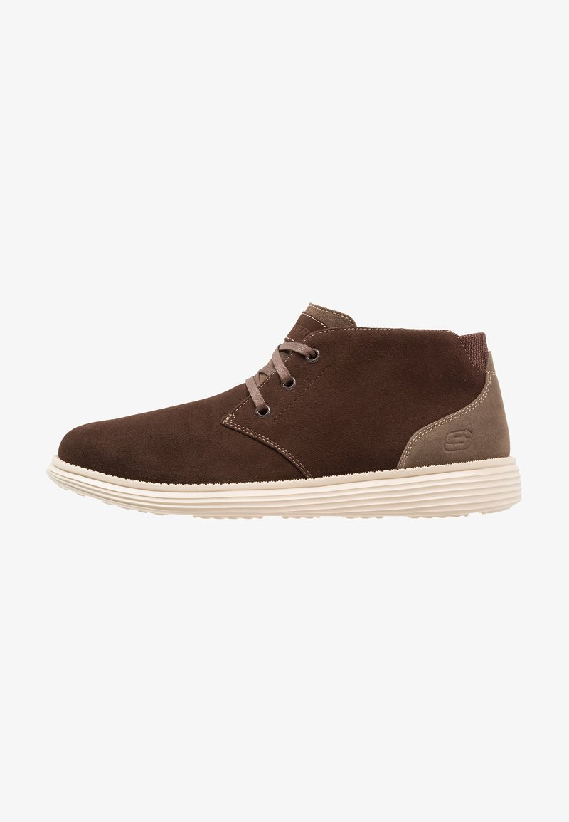 Skechers Lacets Relaxed Brown FitChaussures À htQCxrBsdo