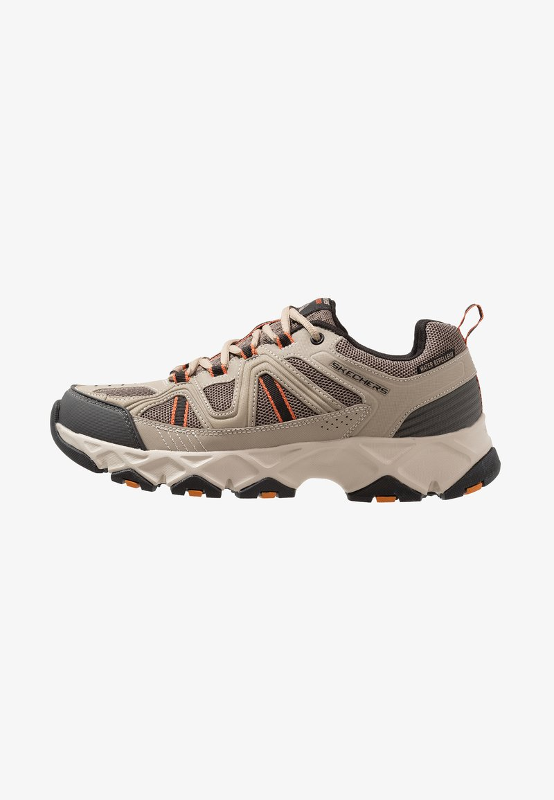 Skechers - CROSSBAR - Trainers - taupe/black