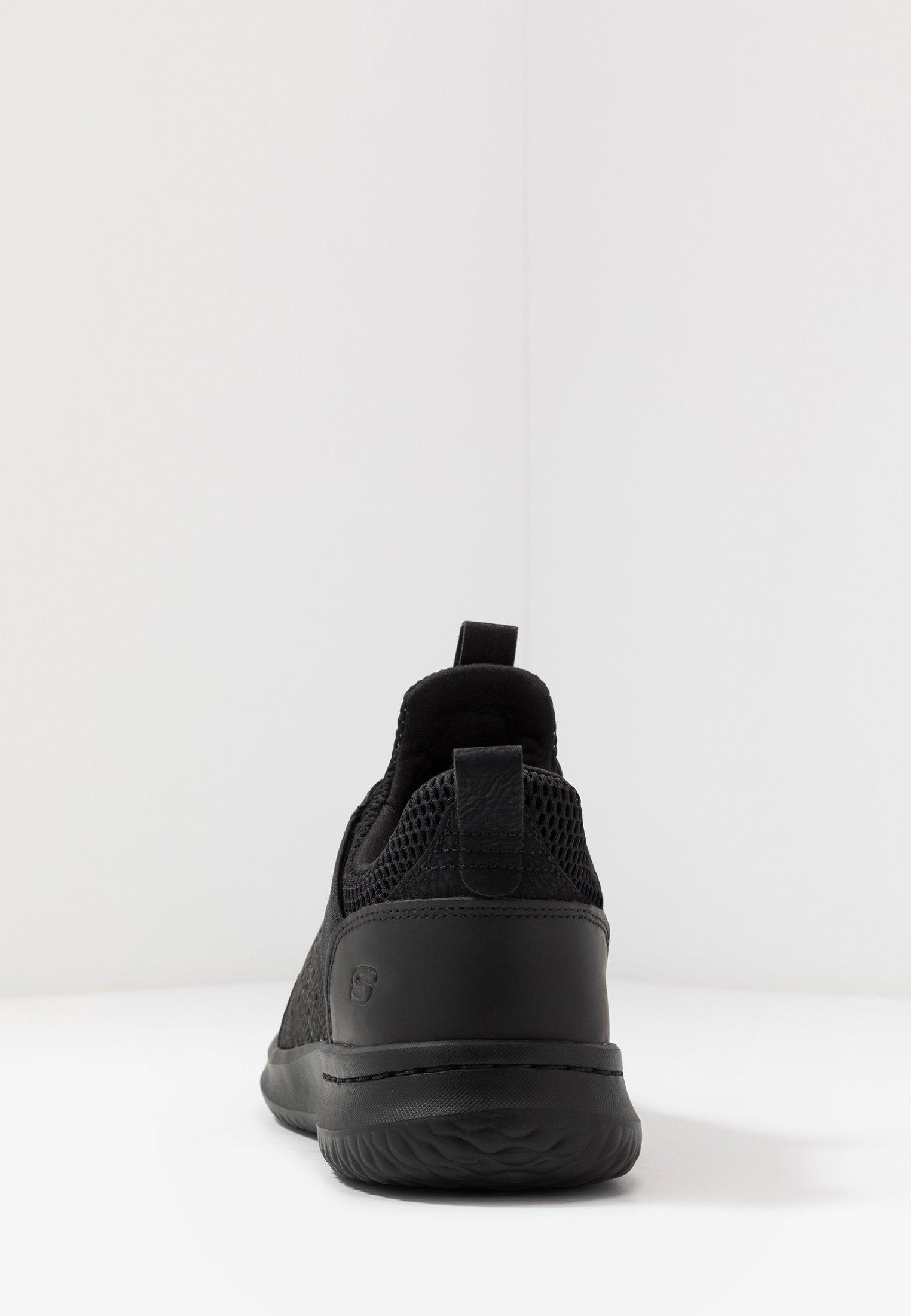Skechers Delson Axton - Scarpe Senza Lacci Black