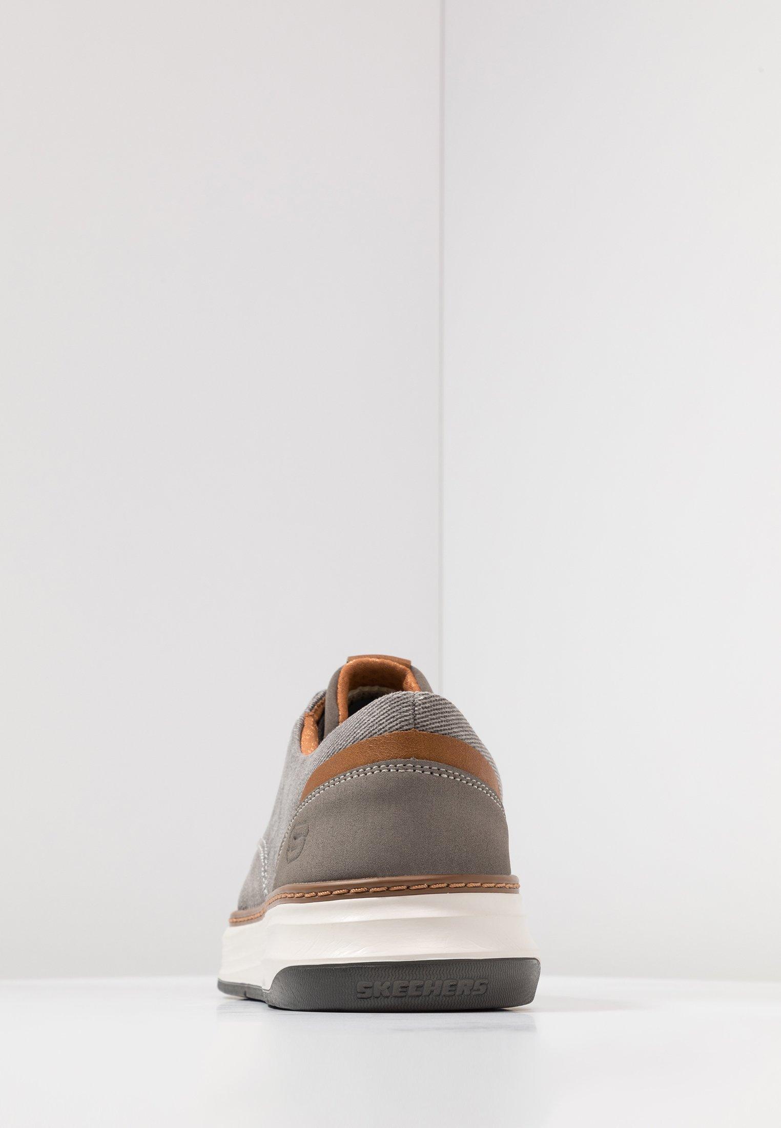 Skechers Moreno - Baskets Basses Taupe
