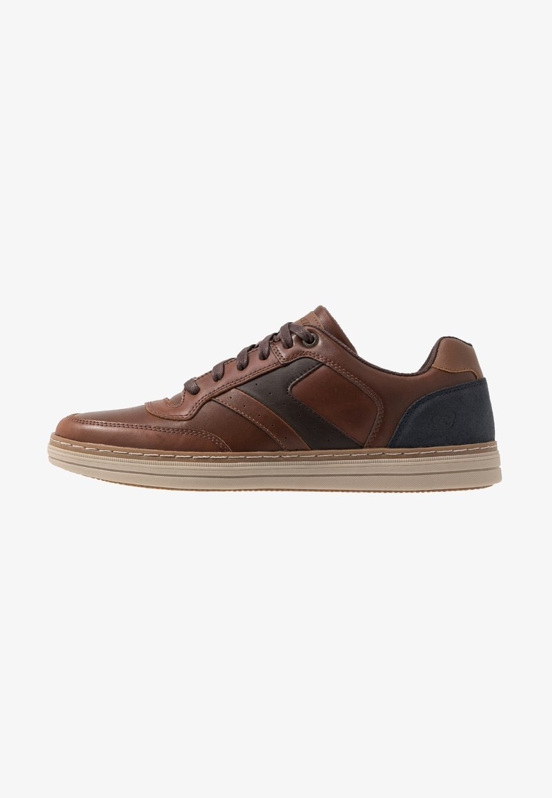 Skechers - HESTON - Baskets basses - dark brown