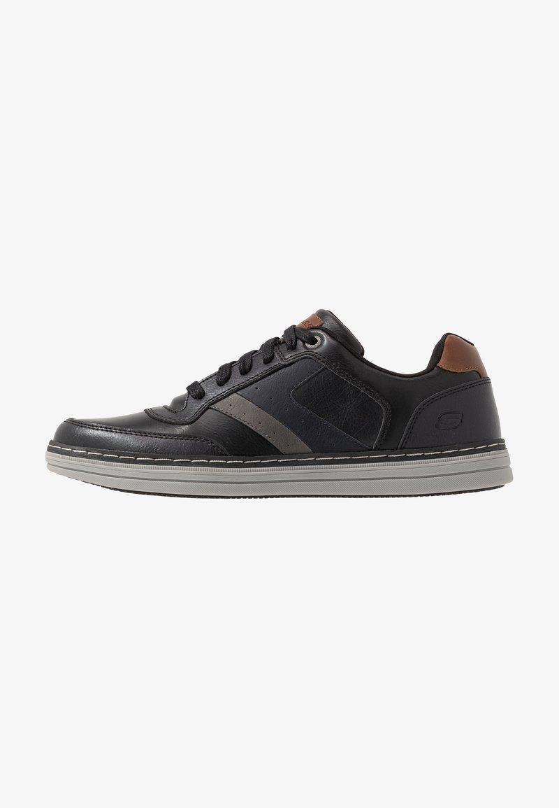 Skechers - HESTON - Sneaker low - black