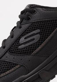 Skechers - OAK CANYON - Sneakersy niskie - black - 5