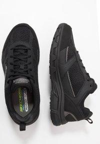 Skechers - OAK CANYON - Sneakersy niskie - black - 1